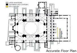 floor plan of hagia sophia objects introduction