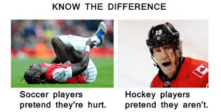 Soccer Hockey Meme - soccer players vs hockey players know the difference weknowmemes