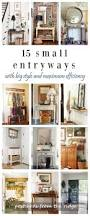 Narrow Foyer Table by Best 25 Small Apartment Entryway Ideas Only On Pinterest Small