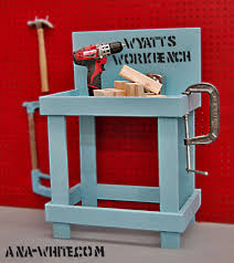 Boys Wooden Tool Bench Ana White Toy Workbench Diy Projects