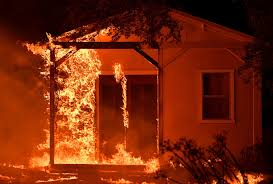 California Wildfire Cat by Deadly Destructive Wildfires Rage Through Northern California