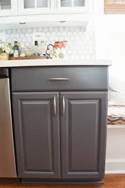 Kitchen Cabinet Paint by White And Gray Painted Kitchen Cabinets Perfect Gray Painted