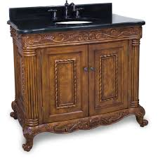 Bathroom Vanities Granite Top Burled Painted Walnut Ornate Bathroom Vanity With Granite Top