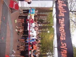 danger zombies run 5k october 28 2012 healthy in cville