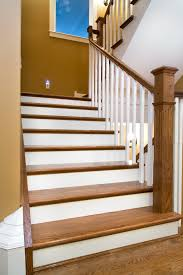 Interior Oak Staircase Railing Baluster White Oak Newell And Oak