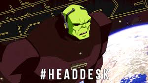 Head Desk Meme - young justice head desk gif find share on giphy