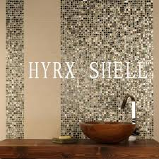 new style hyrx sea flower shell coffee pearl tile mother of