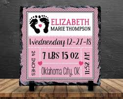 Baby Plaques Slate Signs Plaques U2013 Groovy Giftables