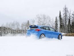 subaru snow wallpaper 2016 ford focus rs in snow rear hd wallpaper 150