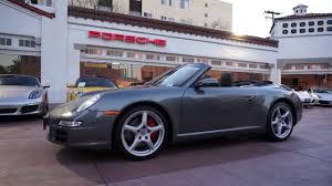 2007 porsche 911 for sale 2007 porsche 911 s cabriolet 3 8 meteor grey beverly