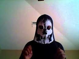 Call Duty Ghost Halloween Costume Call Duty Ghost Mask Elias