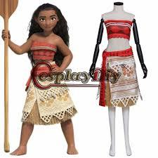 movie moana princess moana waialiki cosplay costume for