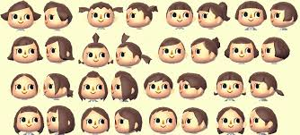 girl hairstyles animal crossing new leaf animal crossing hair styles elegant collections of animal crossing