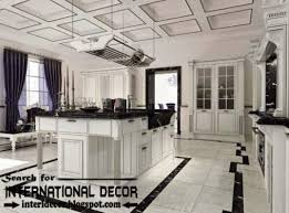 Modern Kitchen Ceiling Light by Modern Kitchen Ceiling Designs Ideas Lights Coffered Ceiling For