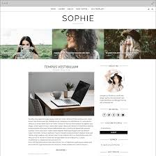 Design Blogger by Sophie Blogger Template Georgia Lou Studios