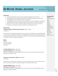 Welding Resumes Examples by Tig Welder Resume Free Resume Example And Writing Download