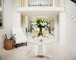 White Entry Table by Copy Cat Chic Room Redo All White Entry Copycatchic