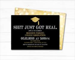 college graduation invites 28 exles of graduation invitation