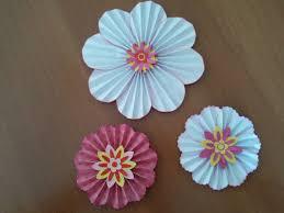fiori di carta scrapbooking tutorial paper flowers ornaments