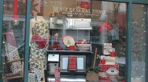 Store Window Decorations For Christmas by Christmas Window Displays Mast General Store Street