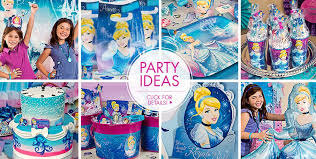 cinderella party favors cinderella party supplies birthday decorations party city