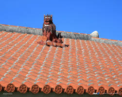 roof ornament of okinawa 30201 city impression city building