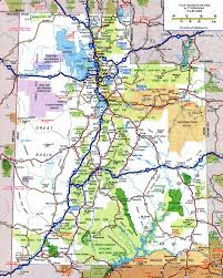 Highway Map Of Oregon by Utah State Road Map