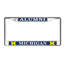 michigan state alumni license plate frame mcm of michigan alumni platinum series license plate frame