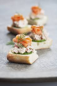 canapé saumon smoked salmon canapés bridor inc