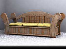 old fashioned sofas old fashioned sofa 3d and 2d art sharecg