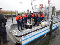 marine bureau black laser learning delivers sonar to suffolk county
