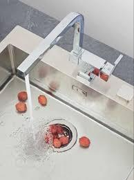 mitigeur cuisine luisina mitigeur évier design bec pivotant et basculant alterna inside 18