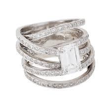 contemporary wedding rings a contemporary white gold diamond ring buy white gold diamond