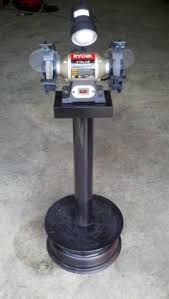 Harbor Freight Bench Grinder Stand Vise And Grinder Stands I U0027m Looking For Ideas On How To Use
