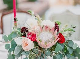 wedding flowers eucalyptus simple wedding flowers fresh king protea garden and