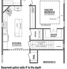 bungalow house plans with basement 3 bedroom bungalow house plan 11778hz architectural designs