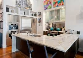 Kitchen Marble Countertops by How To Clean White Marble Countertops Modern Kitchen 2017