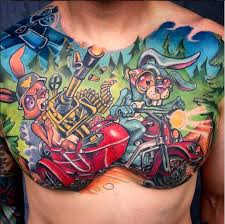 sick chest tattoos pictures to pin on pinterest tattooskid