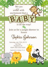 Baby Welcome Invitation Cards Templates Free Safari Baby Shower Invitations Google Search Baby Shower