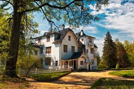 russian country houses drawnground