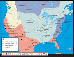 13 Original Colonies Blank Map by Us History Maps
