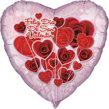 valentines day balloons wholesale 18 feliz dia de san valentin heart shape mylar