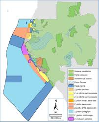 Gabon Map Geogarage Blog New Ocean Reserve Largest In Africa Protects