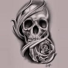 exif sketch skull skulltattoo gugo gugotattoo rose art