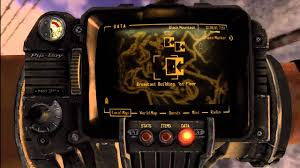 Fallout New Vegas Map With All Locations by Fallout New Vegas Power Armor Training Youtube
