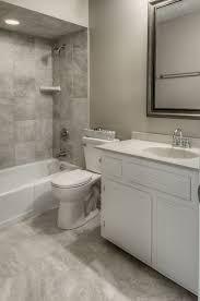 Contemporary Full Bathroom With Raised Panel  Limestone In Omaha - Bathroom vanity tops omaha