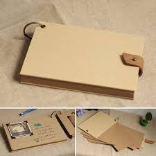 large wedding photo albums a4 large small size memory blank cover kraft paper wedding album