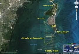Kayak Map Kayak Miami Stiltsville Village In Biscayne Bay Kayakfari