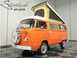 volkswagen bus 1975 volkswagen bus westfalia camper for sale classiccars com