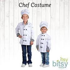 chef costume kids costume kids chef costume personalized chef
